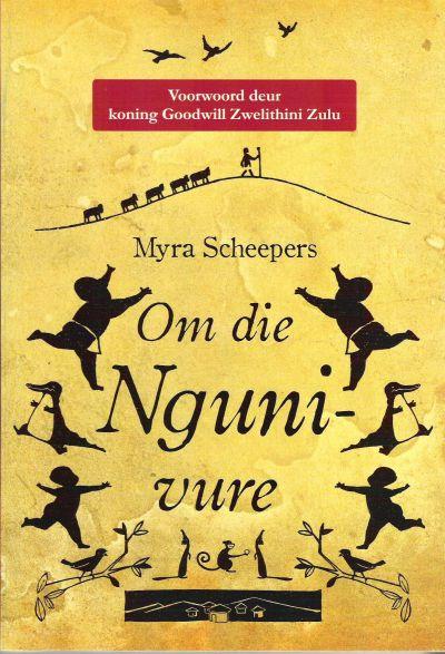 Om die Nguni-vure in die heuwels van Zululand vertel Gogo saans die stories van die ou mense en die voorvaders. Van die geeste wat loop in die nag. Sy vertel die verhale van blink oë diep in die donker bosse.  #eBoeke    http://myafrikaans.com/om-die-nguni-vure.html#