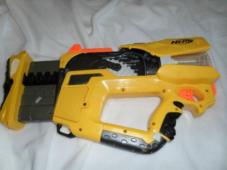 how to make a lego gun that shoots nerf darts