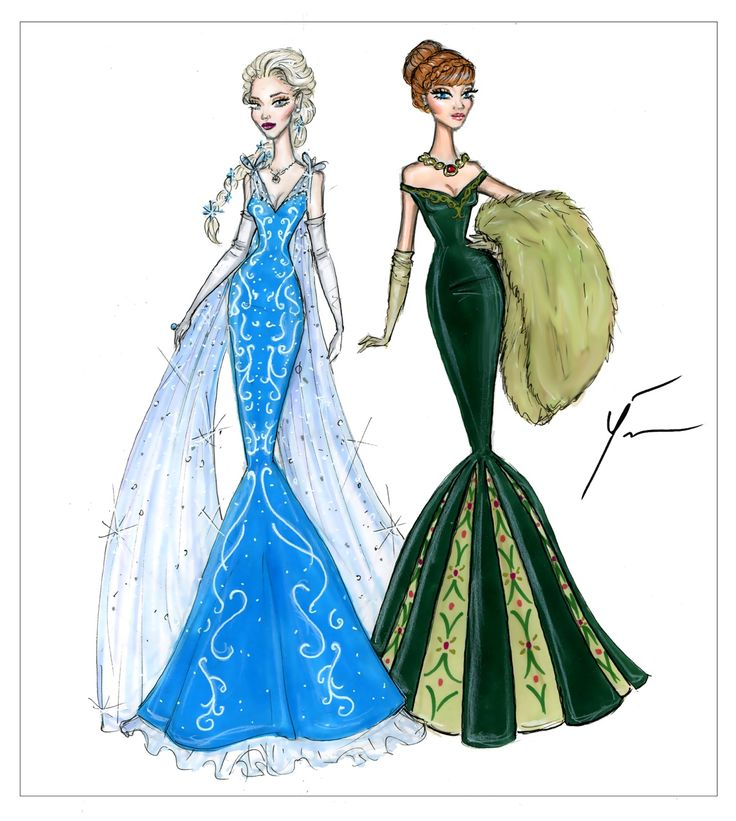 Disney Princesses 'Elsa & Anna' by Yigit Ozcakmak: