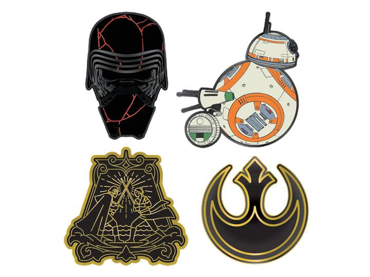 Star Wars Enamel Pin Set (The Rise of Skywalker) Our first