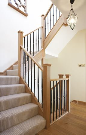 Forged Steel Spindles & Balustrades - Neville Johnson Staircases