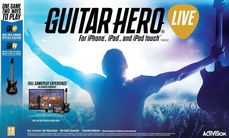 Guitar Hero Live Game + Guitar Bundle IOS from OJSUK! #iOS #iPhone #iPad #games #guitarhero #guitargame #guitar #bundle #gaming #mobile
