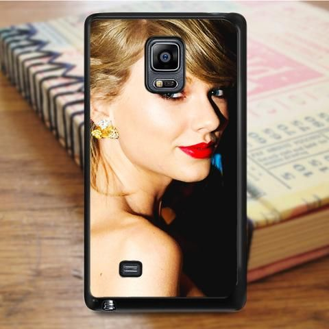 Taylor Swift Red Lips Singer Red Samsung Galaxy Note 3 Case
