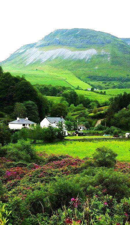 Gorgeous Green Hills of Ireland  --- on my bucket list - will definitely visit one day