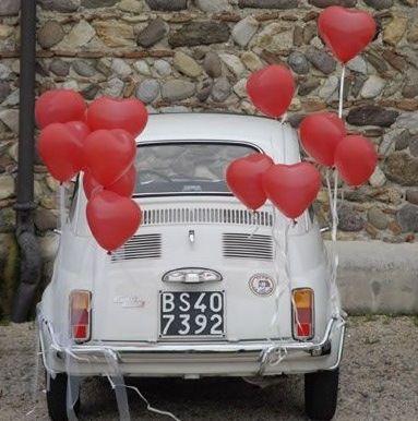 decorazioni auto sposi - Cerca con Google