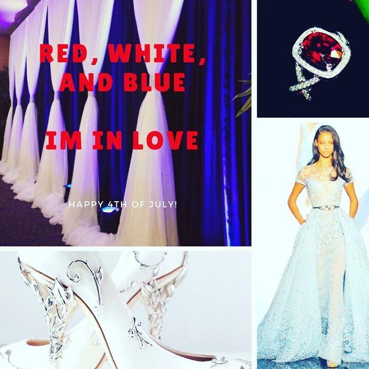 Garnet engagement ring a Zuhair Murad wedding dress and Ralph & Russo Eden Pumps. A combination worth your wedding day.