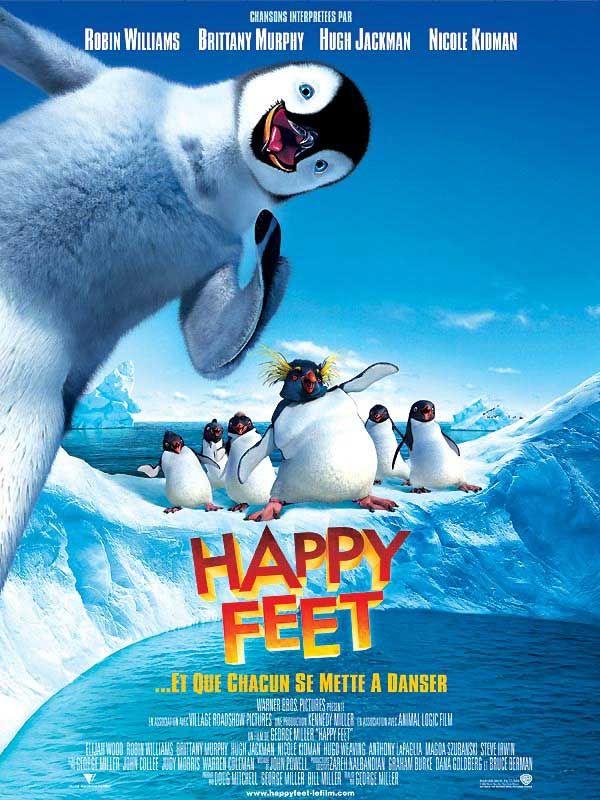 Happy Feet Est Un Film Realise Par George Miller Et Judy Morris Avec La Voix De Clovis Cornillac Synopsis Un Manchot De L A Film Film Streaming Streaming Hd