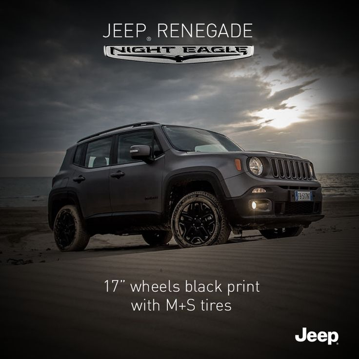 Nowy Jeep Renegade Night Eagle. Chwyć przygodę! #Jeep #JeepPeople #JeepRenegade #NightEagle