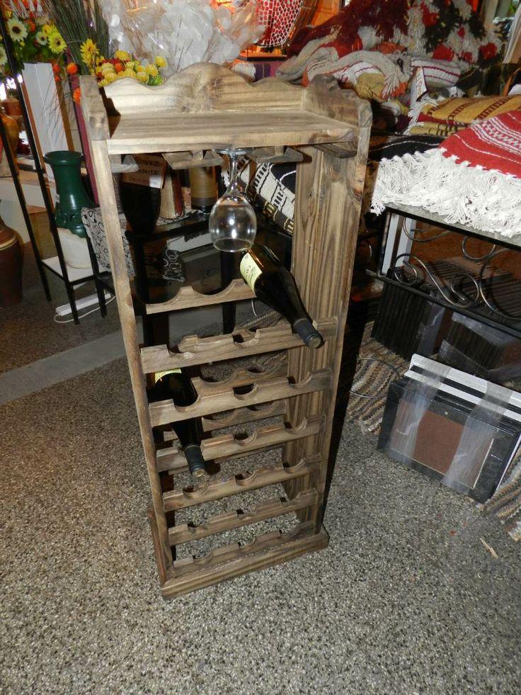 Bodega de madera cava para 18 vinos con copero - Cavas de vinos para casa ...