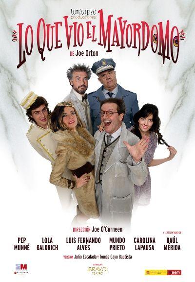 Lo que vio el mayordomo, en el Teatro Auditori de Catarroja - http://www.valenciablog.com/lo-que-vio-el-mayordomo-en-el-teatro-auditori-de-catarroja/