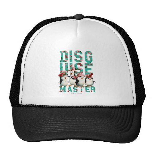 Disguise Master. Producto disponible en tienda Zazzle. Accesorios, moda. Product available in Zazzle store. Fashion Accessories. Regalos, Gifts. Link to product: http://www.zazzle.com/disguise_master_trucker_hat-148645136162887683?social=true&rf=238167879144476949 #gorra #hat #pinguinos #penguins