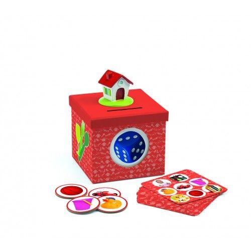 Kioukoi Home - Otthonhoz köthető szóképek, flashcards oktató játék 2 éves kortól - Djeco