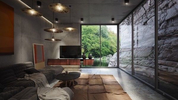 4 Homes Using Concrete as a Stylish Accent