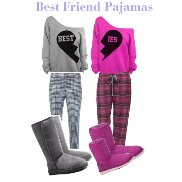 matching pajamas for best friends - Google Search
