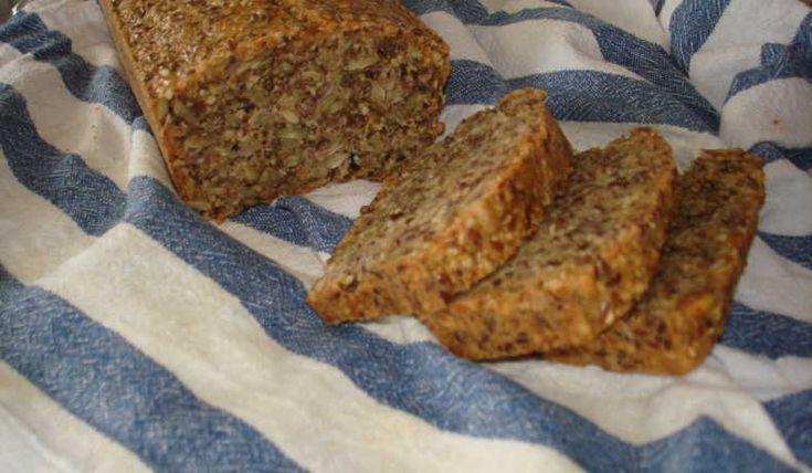 Bröd bakat helt utan jäst, mjöl och socker.