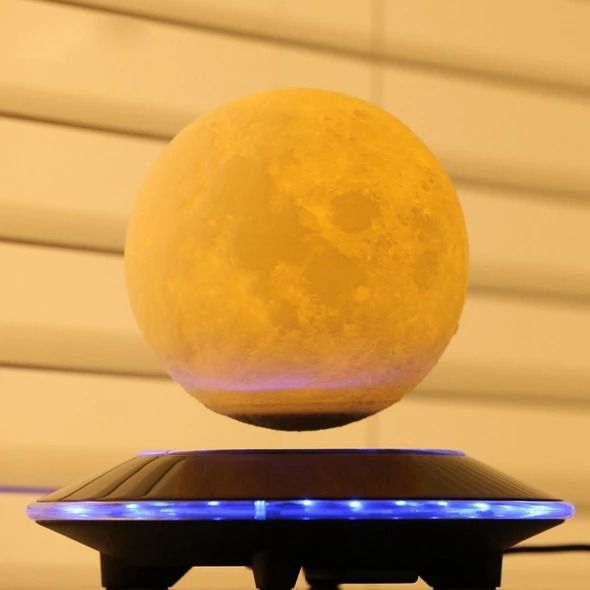 3d Magnetic Floating Moon Lamp Led Night Light Lamp Night Light