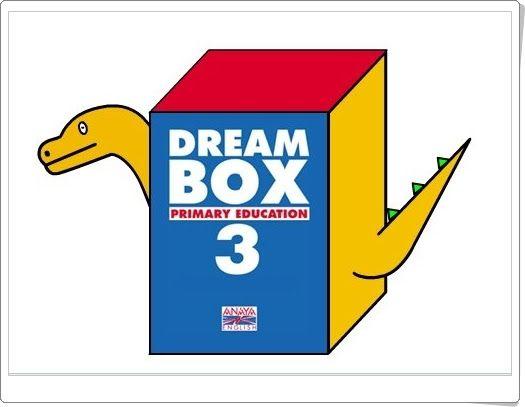 Dream Box, de Anaya English, correspondiente al texto de 3º Nivel de Educación Primaria, en 12 unidades más diccionario. Actividades interactivas complementarias a las unidades didácticas del libro del alumno.