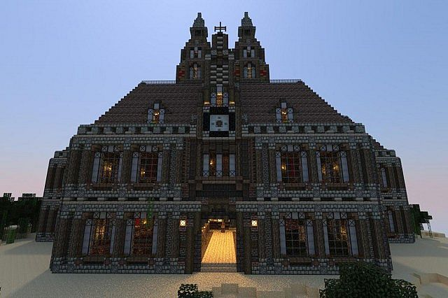 Minecraft Epic House Blueprints