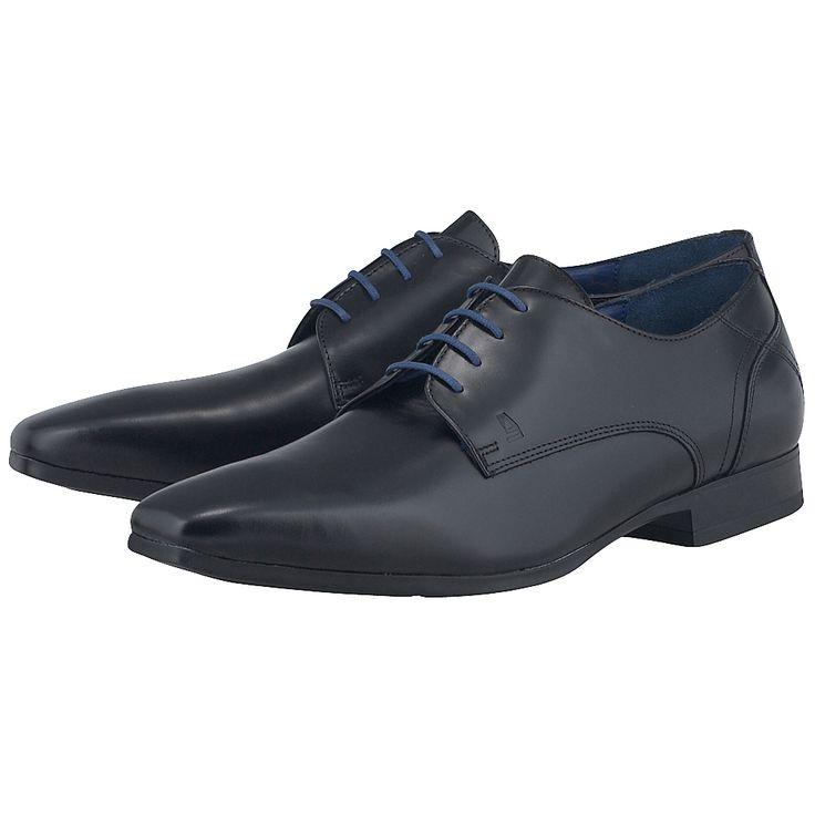 Ανδρικά loafers με κορδόνι από δέρμα άριστης ποιότητας, σε κλασική μαύρη απόχρωση, με δερμάτινη εσωτερική επένδυση και προσεγμένο στη λεπτομέρεια και απόλυτα κομψό σχέδιο, παπούτσια που αποτελούν ιδανική επιλογή για τους λάτρεις του στυλ και για επίσημες εμφανίσεις με αυτοπεποίθηση. Τα υποδήματα του οίκου Azzaro είναι η επιτομή της υψηλής αισθητικής. Οι καθαρές γραμμές τους σε συνδυασμό με την άριστη ποιότητα των υλικών τους αποτυπώνουν την ιδέα της ανδρικής κομψότητας.