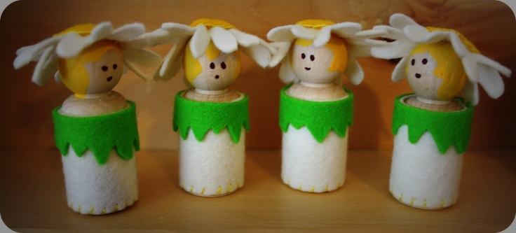 Twig and Toadstool: Flower Children to Welcome Spring!