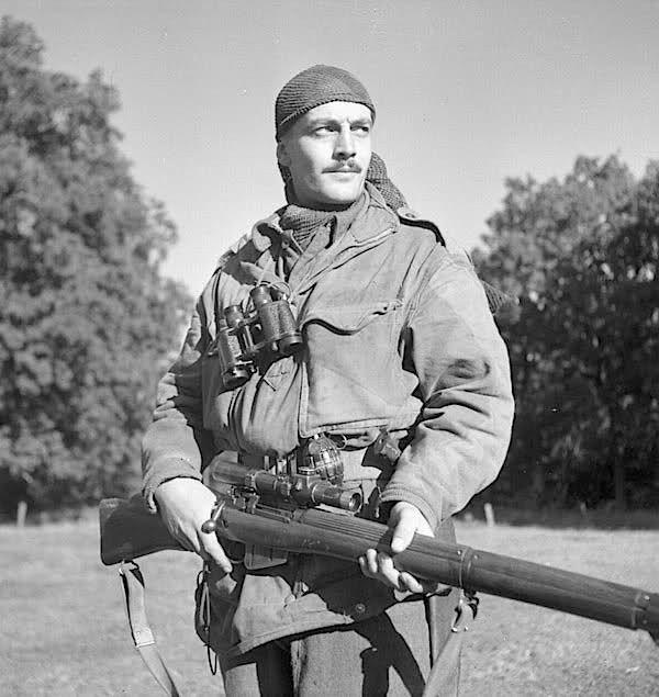 Canadian Sniper ww2