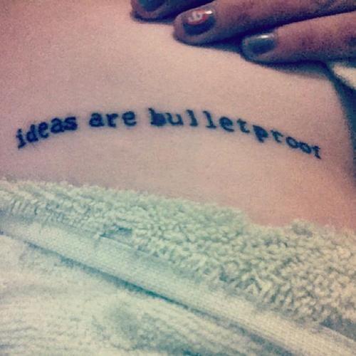 v for vendetta quote | ideas are bulletproof.