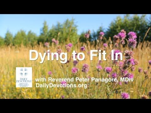 1647 'Dying to Fit' with Rev. Peter Panagore