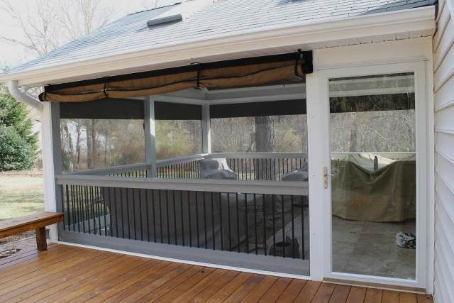 Best 25 roll up doors ideas on pinterest garage the for Roll up screen porch