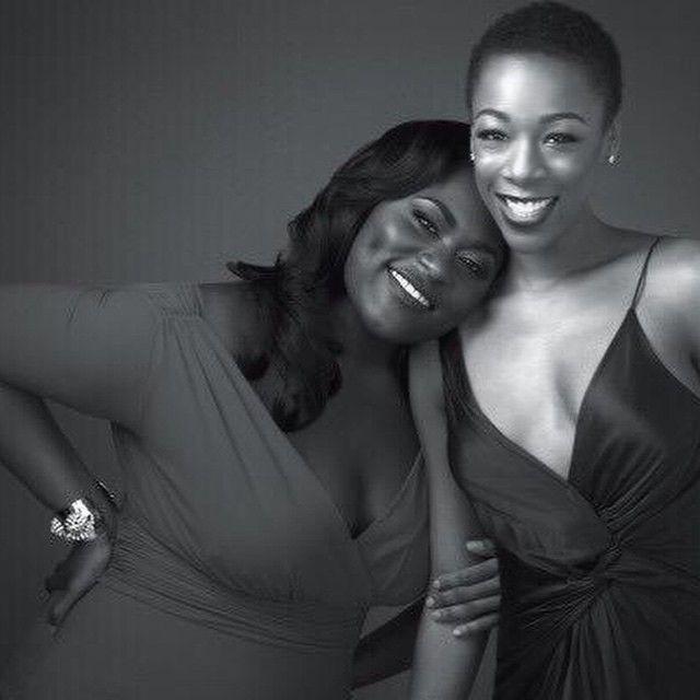Orange is the New Black - Danielle Brooks and Samira Wiley