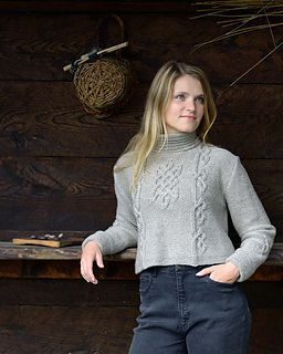 Mist Sweater by Elsebeth Lavold Published in Viking Knits & Ancient Ornaments