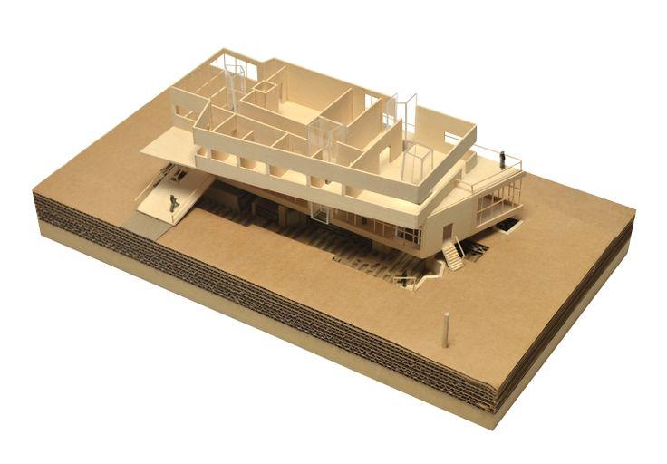 Archaeo Center; Model; 2N Architectural Design; www.nikosnasis.com