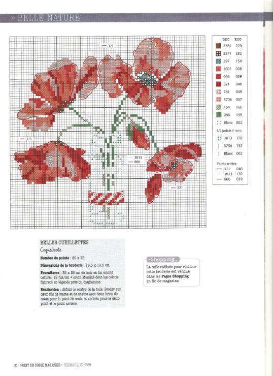 Gallery.ru / Фото #53 - Point de Croix Magazine-N°68-Juin-2016 - Ulka1104