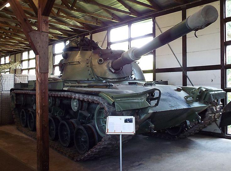 US  M60 Main Battle Tank 1959 Panzer Museum Munster