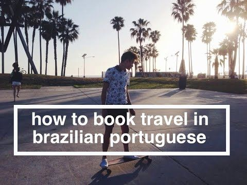 How to Book Travel in Brazilian Portuguese: All you need to know to book a trip in Portuguese.   #portuguese #português #brazil #brasil #slang #language #grammar #cool #youtuber #youtube #travel #beginner #gringo #brasileira #travel