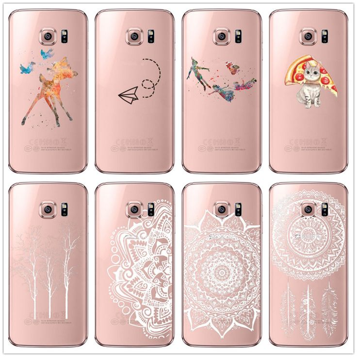 Retro Woman Best Selling Cell Phone Cases Cover For Samsung Galaxy S6/ S6 Edge /Plus /S7 Edge Back Bags Cute Gift Transparent Digital Guru Shop