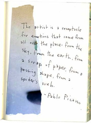 picasso. nk.Art Quotes, Art Studios, Art Inspiration, Art Journals, Artsy Fartsy, Picasso Quotes, Quotes Words Thoughts, Pablo Picasso, Spiders Web