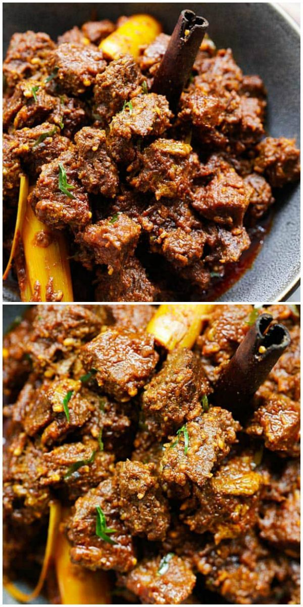 Beef Rendang The Best And Most Authentic Beef Rendang Recipe You
