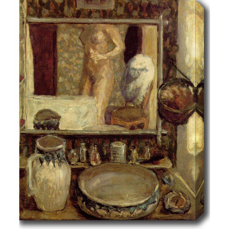 YGC Pierre Bonnard 'The Toilet' Oil on Art