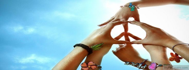 peace. Facebook cover - Portada Facebook - Couverture Facebook