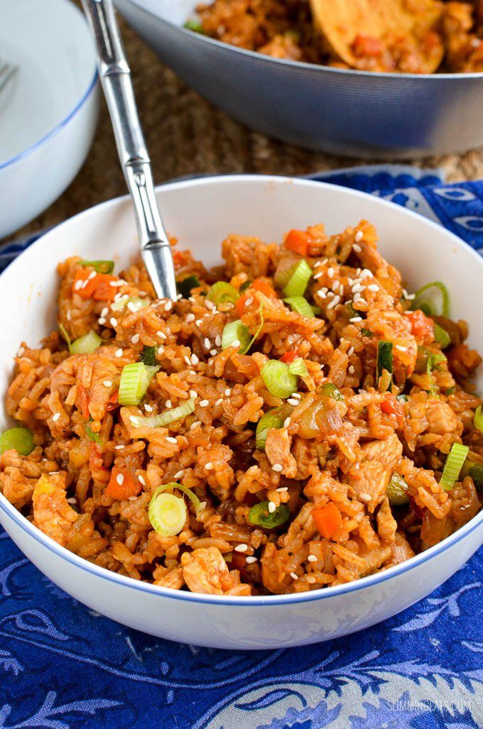 Simple Teriyaki Chicken and Rice Bowl - delicious!!! Your favorite Japanese inspired dish all served together in one bowl.
