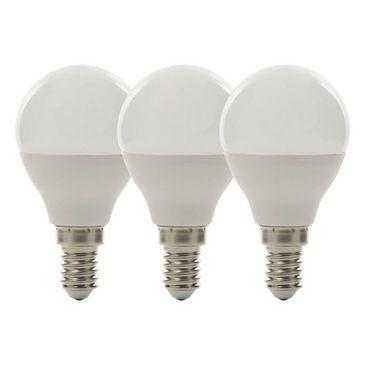 Luceco LED E14 Mini Globe 5.5W Bulbs 3 Pack | maplin