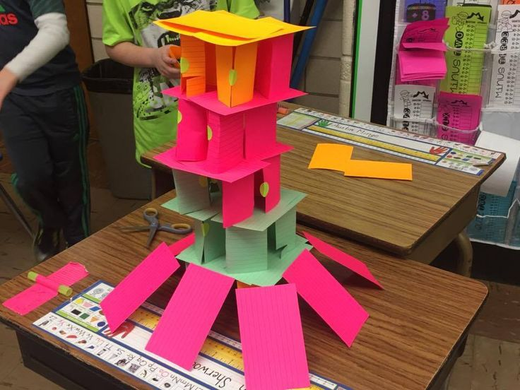 STEM PROJECT For Elementary Grades ~ BUILDING A HOUSE OF CARDS - Teaching Second Grade