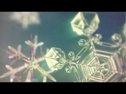 Macro Snow Flakes Forming - YouTube