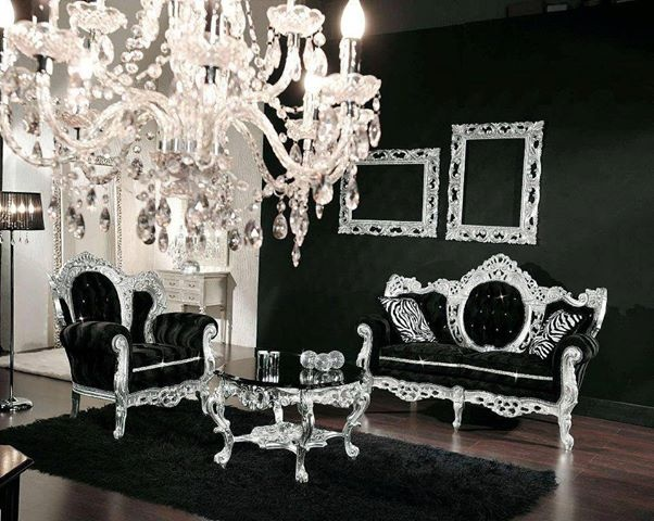 Black And Silver Room Part 78