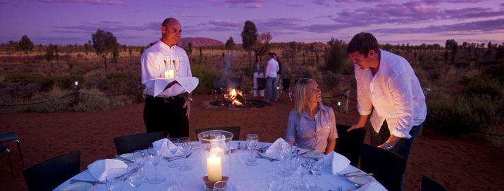 Dining at Ayers Rock Resort, Uluru-Kata Tjuta National Park - Australia