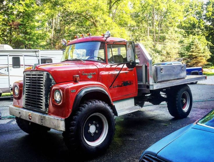 Heavy Duty Factory 4×4: 1971 International Harvester Loadstar 1700