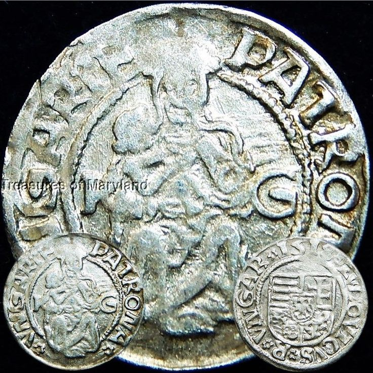 EXCELLENT! 1518 MARY HOLDING BABY JESUS HUNGARIAN DENAR sku #DN2