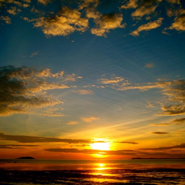 sunset in bintan, indonesia, wait me on June, ouwh!