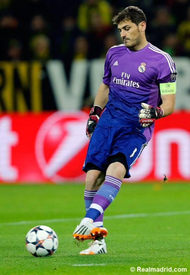 Iker Casillas. Real Madrid.