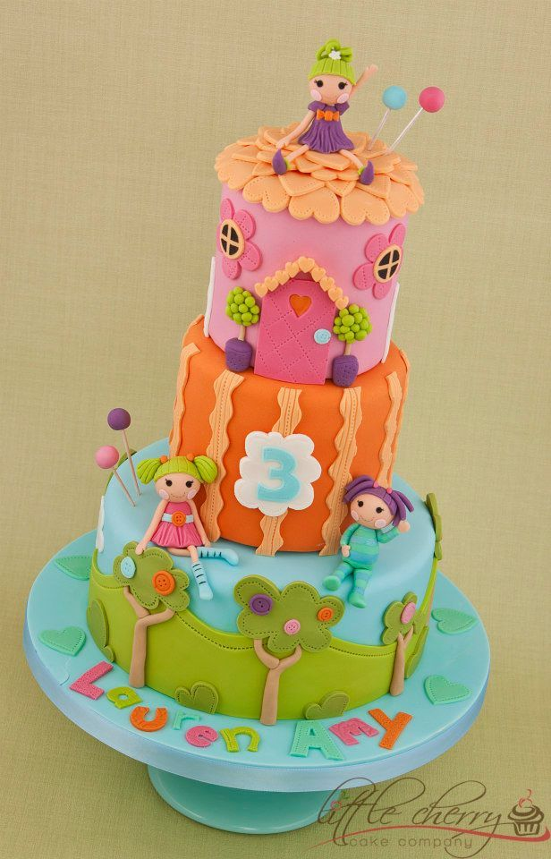 Lalaloopsy Cake by Little Cherry Cake Company